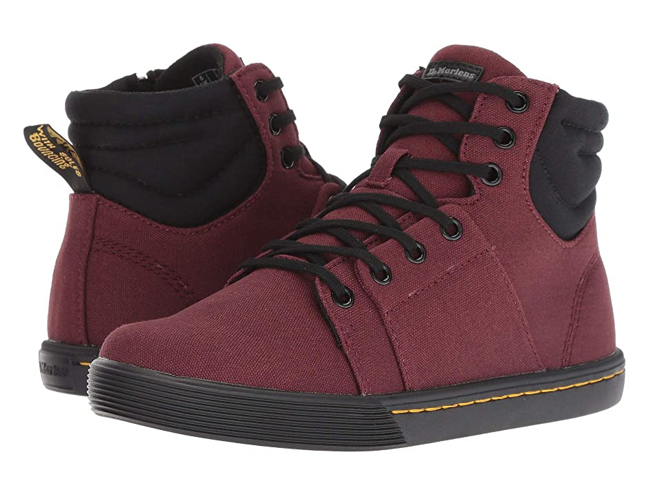 Dr. Martens Rozarya Octavo (Old Oxblood Canvas/Black Fine Canvas) Women