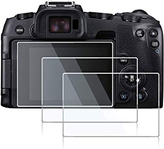 debous Screen Protector Compatible Canon EOS RP Mirrorless Camera,Anti-Scratch Tempered Glass Clera Hard Protective Film Shield Cover (3pcs)
