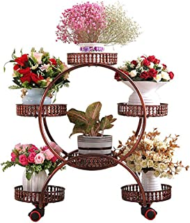 Flower stand 6layer Flower Stand Metal Plant Stand Bracket Indoor And Outdoor Living Room Balcony Garden Decoration Frame/...