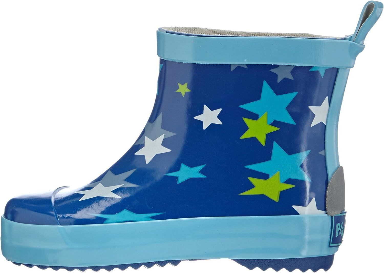 Playshoes Bota de Agua Estrellas Botas de Goma de Caucho Natural Unisex ni/ños