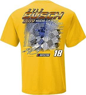 2019 NASCAR Cup Series Driver Schedule T-Shirt