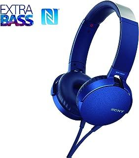 Headphone OverEar, Sony, XB550, MDR-XB550APLCLA, Azul Médio