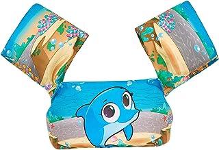 Children's Thickened Swimming Arm Ring Life Jacket Cartoon Printing Baby Buoyancy Equipment