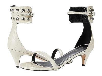 AllSaints Evie (Off-White Croc) Women