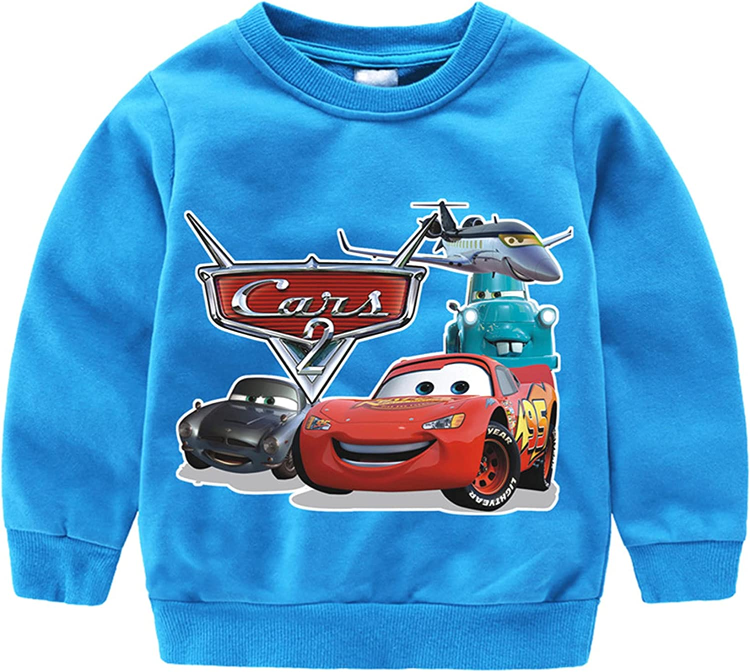 Latest item Ceomate Boys Don't miss the campaign Girls Cars Lightning Lo Pullover McQueen Sweatshirt