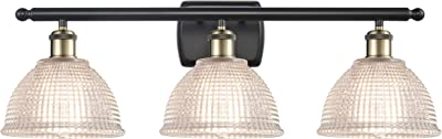 Innovations 516-3W-BAB-G422-LED Arietta 3 Bath Vanity Light Part of The Ballston Collection, Black Antique Brass