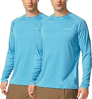 BALEAF Men's UPF 50+ UV Sun Protection Outdoor Long Sleeve Performance T-Shirt