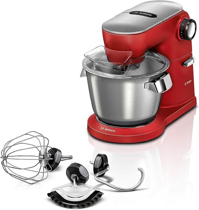 Robot da cucina bosch optimum, colore rosso MUM9A66R00