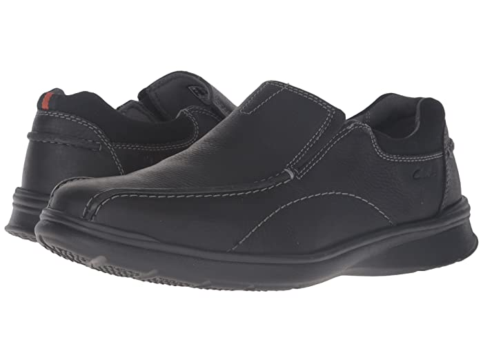 Clarks  Cotrell Step (Black Oily Leather) Mens Shoes