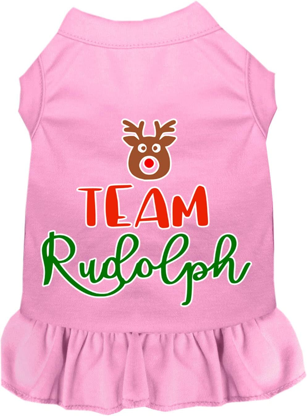 Mirage Pet Product Team Rudolph Outlet Great interest ☆ Free Shipping Screen Dog Dress Pin Light Print