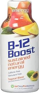 1st Step for Energy B-12 Shot Maximum Energy, Tropical Blast, 2-Ounce, 12 per Box
