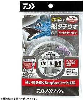 ダイワ(Daiwa) タチウオ用 釣り針 ハリス付 1/0-8 サクサスフック マルチ 51071