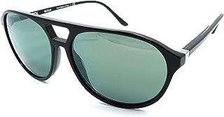Starck Mikli Sunglasses SH5013 0002/6R 57x14 Shiny Black - Light Green Mirror