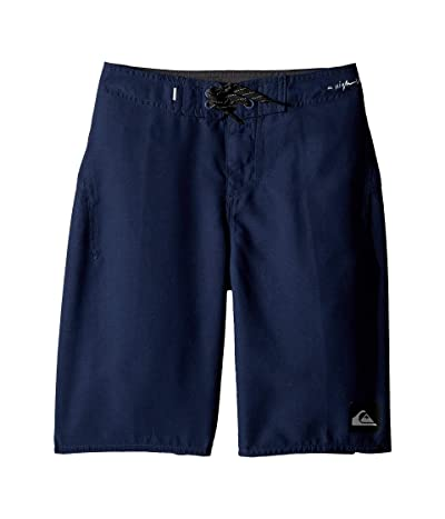 Quiksilver Kids Highline Kaimana 19 Boardshorts (Big Kids) (Navy Blazer) Boy