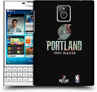 Official NBA Floral 2019/20 Portland Trail Blazers Hard Back Case Compatible for BlackBerry Passport