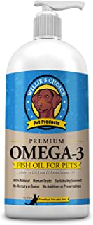 Sponsored Ad - Willie's Choice Pure, All Natural Omega 3-6-9 Fish Oil for Dogs, Cats - Less Shedding, Supports Skin, Joint...