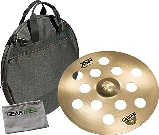 Sabian XSR1600B 16in XSR O-Zone B20 Crash Cymbal Bundle w/Bag