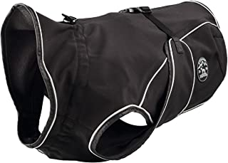 Hunter 狗外套乌普萨拉软壳, 防水, 防风 黑色 30