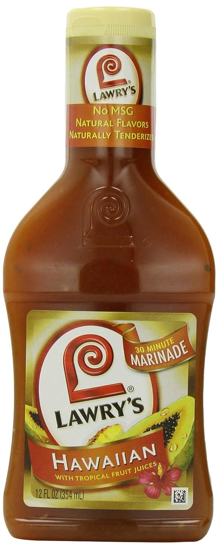 Lawry's Hawaiian with Max 50% OFF Tropical Fruit 12 Marinade oz Max 72% OFF Juices fl