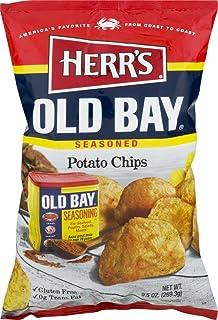 Herr's Old Bay Potato Chips - 7.5 Oz. Bag (4 Bags)