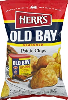 Herr's Old Bay Potato Chips - 9 Oz. Bag (4 Bags)