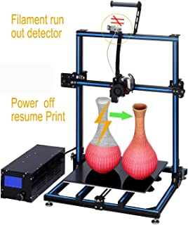 ADIMLab Gantry Pro 3D Printer with 310X310X410 Build Volume 24V Power, Newest Updated Titan Direct Extruder, Lattice Glass, Resume Print and Run Out Detection, Modifiable to Upgrade to Auto Leveling&WIFI