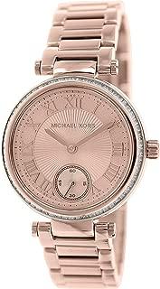 Michael Kors Skylar for Women - Casual Stainless Steel Band Watch - MK5971