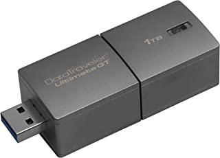 Kingston Digital 1TB DataTraveler Ultimate GT USB 3.1/3.0 300MB/s R, 200MB/S Flash Drive (DTUGT/1TB)