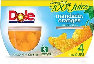 Dole, Mandarin Oranges in Juice, 16 Oz, (pack of 4)