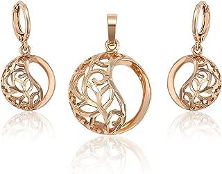 Charles Delon Women Pendant, Earrings Bijoux