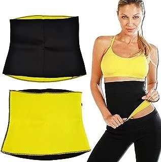 sai international Mark Ample Unisex Neoprene Body Shaper for Waist Fitness Belt, XL (Black)