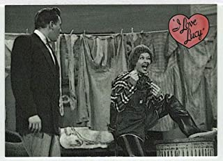 Men are Messy - I Love Lucy 50th Anniversary (Trading Card) # 4 - Dart Flipcards 2001 Mint