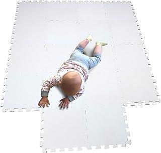 MQIAOHAM Esterilla Puzzle de Fitness-18 losas de EVA Espuma