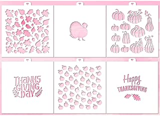 stencil thanksgiving