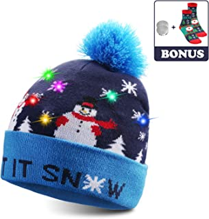 Best light up christmas beanies Reviews