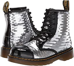 1460 Pooch Sequins Boot (Little Kid/Big Kid)
