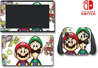 Mario Luigi Superstar Saga Bowser's Minions Video Game Vinyl Decal Skin Sticker Cover for Nintendo Switch Console System