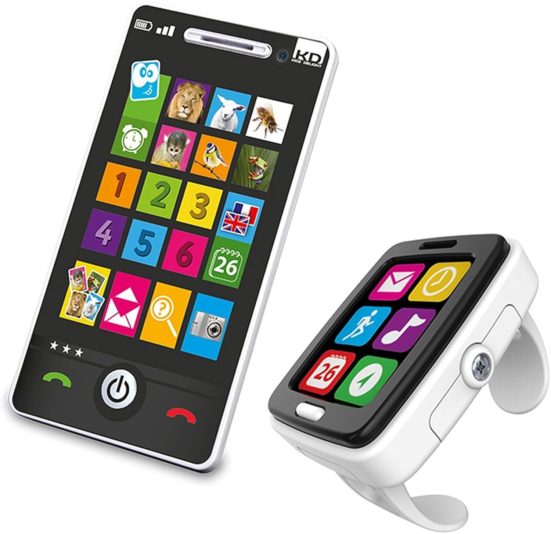 Kidz Delight K16950M Tech Too Watch & Phone Combo Toy