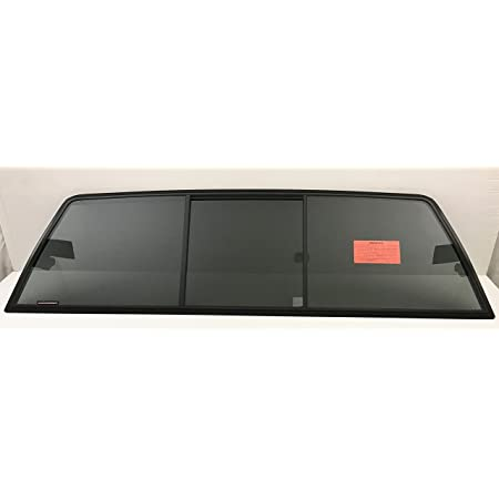 NAGD Compatible with 2005-2020 Toyota Tacoma Pickup Rear Window Back Manual Slider Glass OEM Look