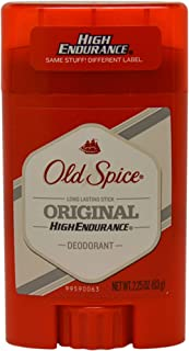 Old Spice High Endurance Deodorant Long Lasting Stick, Original Scent, 63g