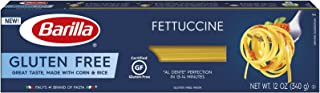 Barilla Gluten Free Pasta, Fettuccine, 12 Ounce (Pack of 12)