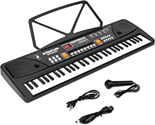 M SANMERSEN Piano for Kids with Microphone, Keyboard Piano f