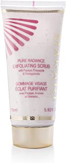 Makari Pure Radiance Exfoliating Scrub Cream 5.92 oz. – Cleansing Lotion for Face and Body – Gentle Healing Exfoliation Buffs Away Old Dead Flakes – Moisturizer for Oily, Dry and All Skin Types