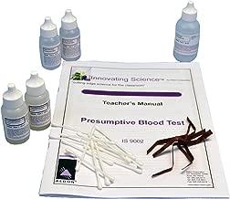 Forensic Chemistry: Presumptive Blood Test Kit - Materials for 30 Tests