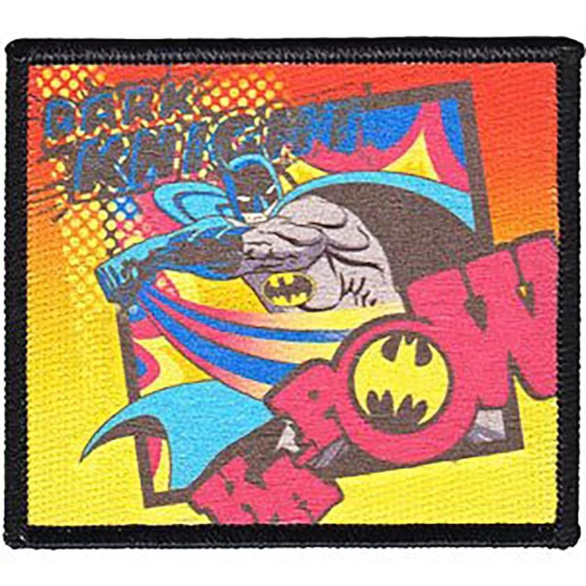 DC Comics Iron on Patch - Batman Action Pose