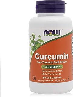 Now Curcumin Turmeric Root Extract - 60 Capsules