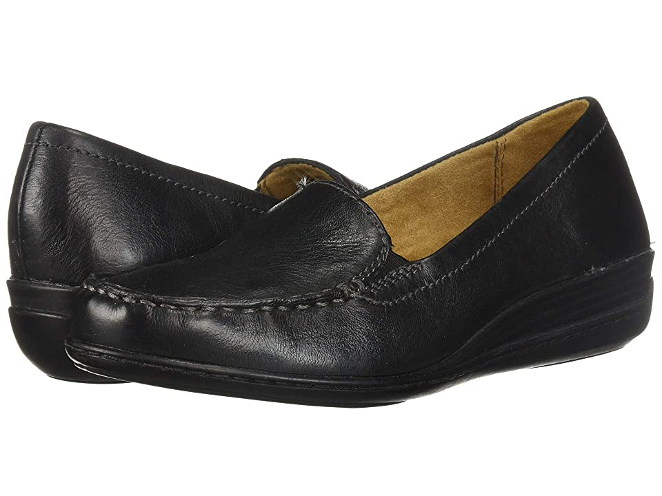 Natural Soul Wilamina (Black Leather) Women