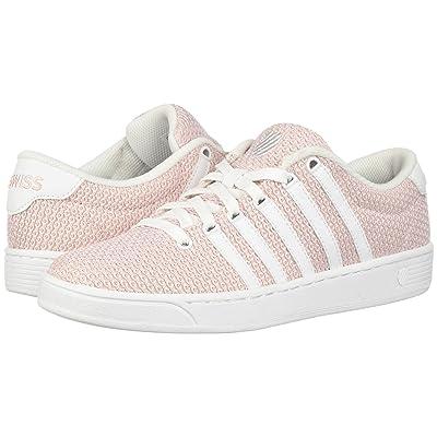 K-Swiss Court Pro II T CMF (Parfait Pink/Creole Pink/White) Women