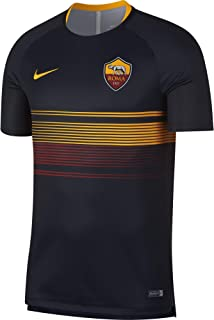 Nike 2018-2019 AS Roma Pre-Match Training Jersey (Black)