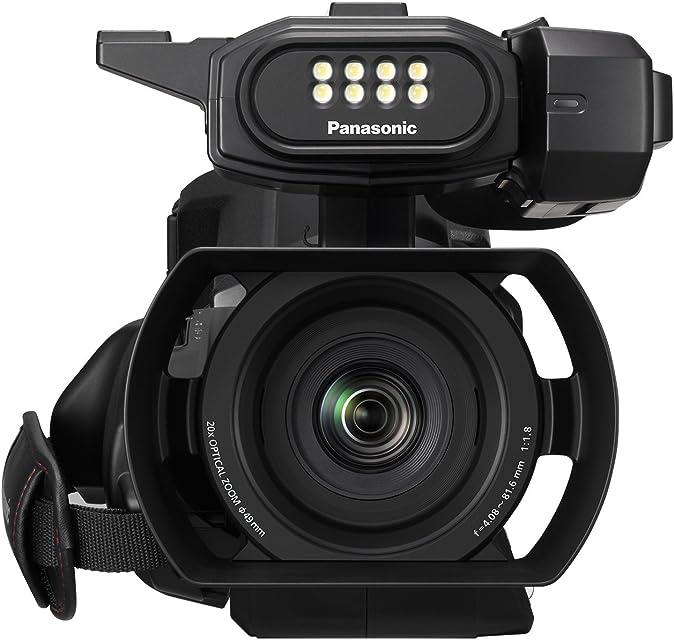 Panasonic HC-MDH3 - Videocámara Profesional de 20x O.I.S de 5 Ejes F1.8 - F3.6 Zoom 29.5 mm - 612 mm 100 Fps HD LED SD Dual Color Negro